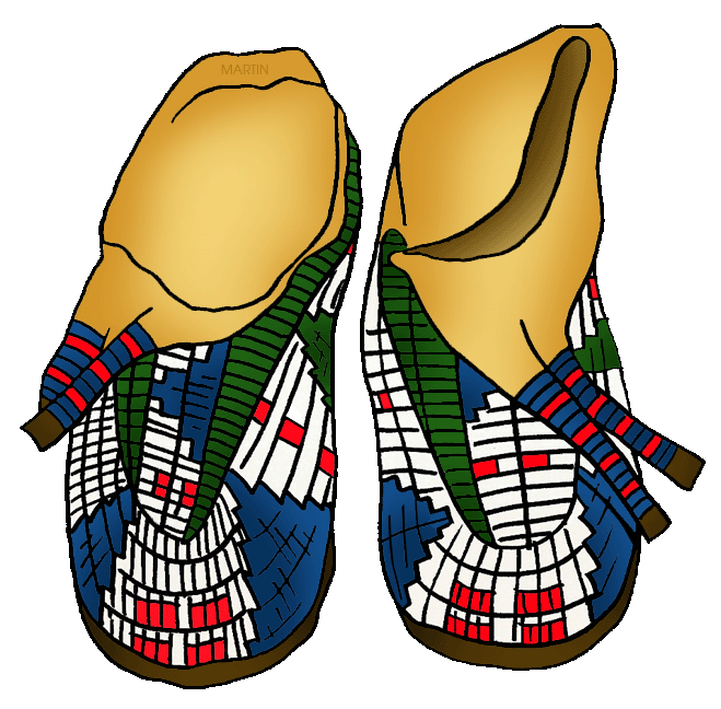 native americans clip art by phillip martin plains moccasins rh nativeamericans phillipmartin info  clipart plateau de fromages