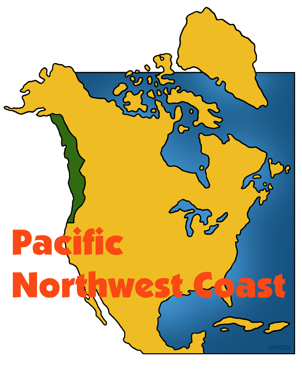 Pacific Northwest Coast Map