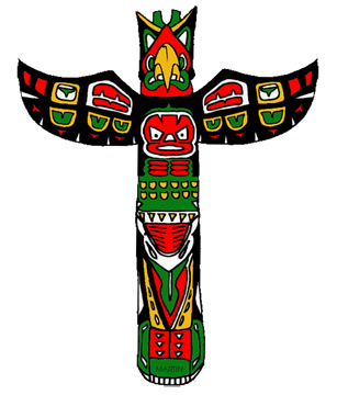 free pacific northwest native americans clip art by phillip martin rh nativeamericans phillipmartin info  totem pole clipart black and white