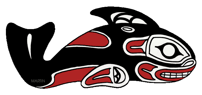 Pacific Northwest Whale Art