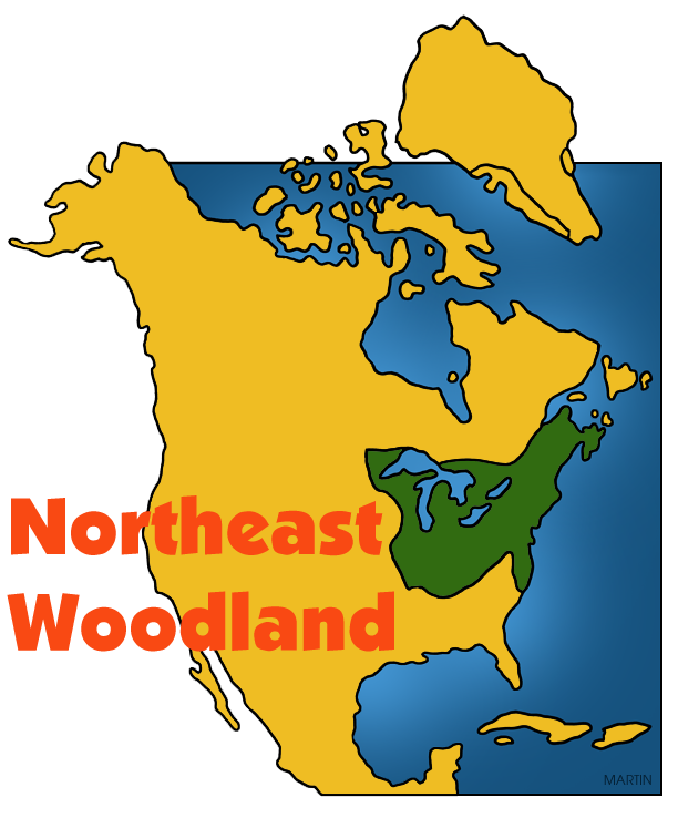 Northeast Woodland Map