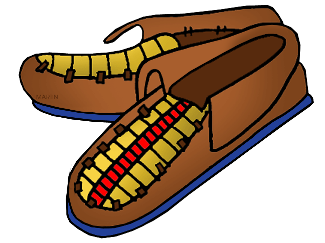 Northeast Woodland Moccasins